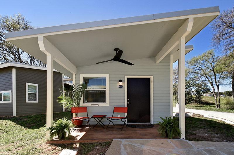 Tiny home rental austin tx